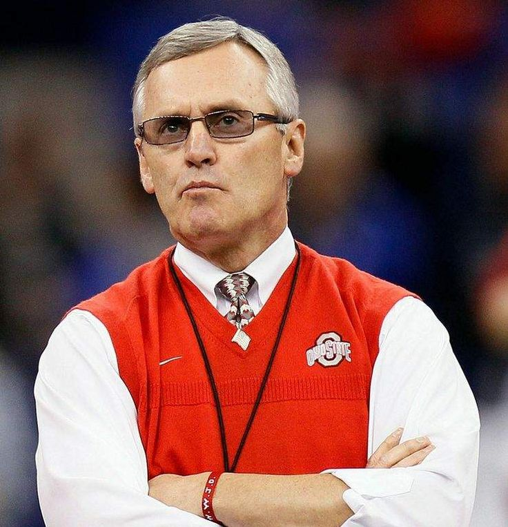 Jim Tressel- the sweater vest! Born in Mentor OSU Football Coach     Went to Baldwin Wallace