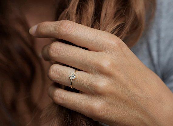 capucinne - princess diamond ring