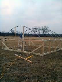 25+ best ideas about Hoop house chickens on Pinterest | Mobile chicken coop, Greenhouse ...