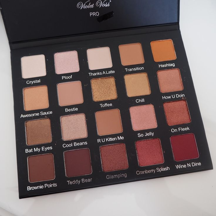 Expat Make Up Addict: The review: Violet Voss Holy Grail palette