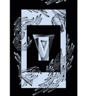 KASPER PYNDT - Vand  ArtRebels Paper Cuts  #illustrations #illustraion #poster #artrebels