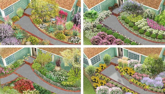 Front Yard Landscape 4 Ways Enhance curb appeal with an