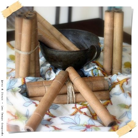 For sale ... french antique wooden spools