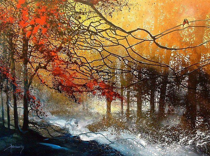 colormondays_ru: Осенние пейзажи от Roland Palmaerts