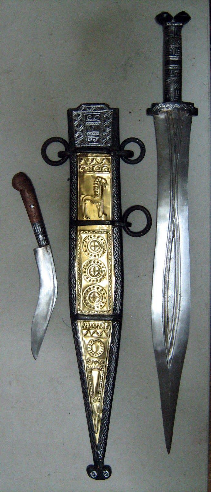 Spain / IBERIA. (Pre-Roman Spain) - El Artesano Numantino: espada de antenas