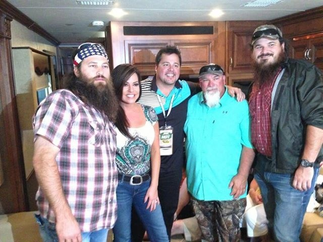 Robin Meade with Willie ,Godwin and Martin