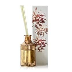 The Botanique Collection of Home Fragrances will bring the soft scent of the garden into the home. With beautiful floral packaging and featuring a stained glass vessel for the diffusers and metallic look candle holder, this home fragrance range will add t