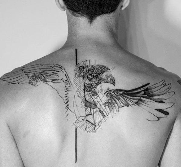 50 Tribal Bird Tattoo Designs For Men Cool Ink Ideas Tribal Bird Tattoos Back Tattoos For Guys Tribal Back Tattoos