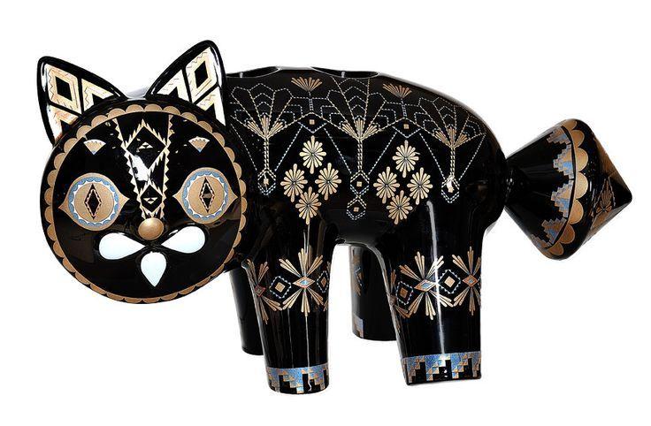 Klaus Haapaniemi Ceramic Cat