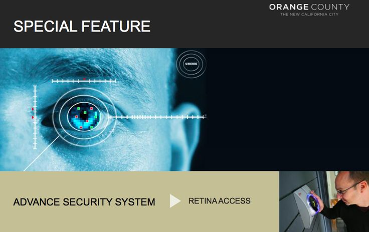 Retina Access security system @ Orange County Glendale Park Cikarang
