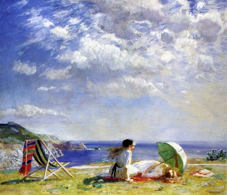 Wind and Sun by Dame Laura Knight