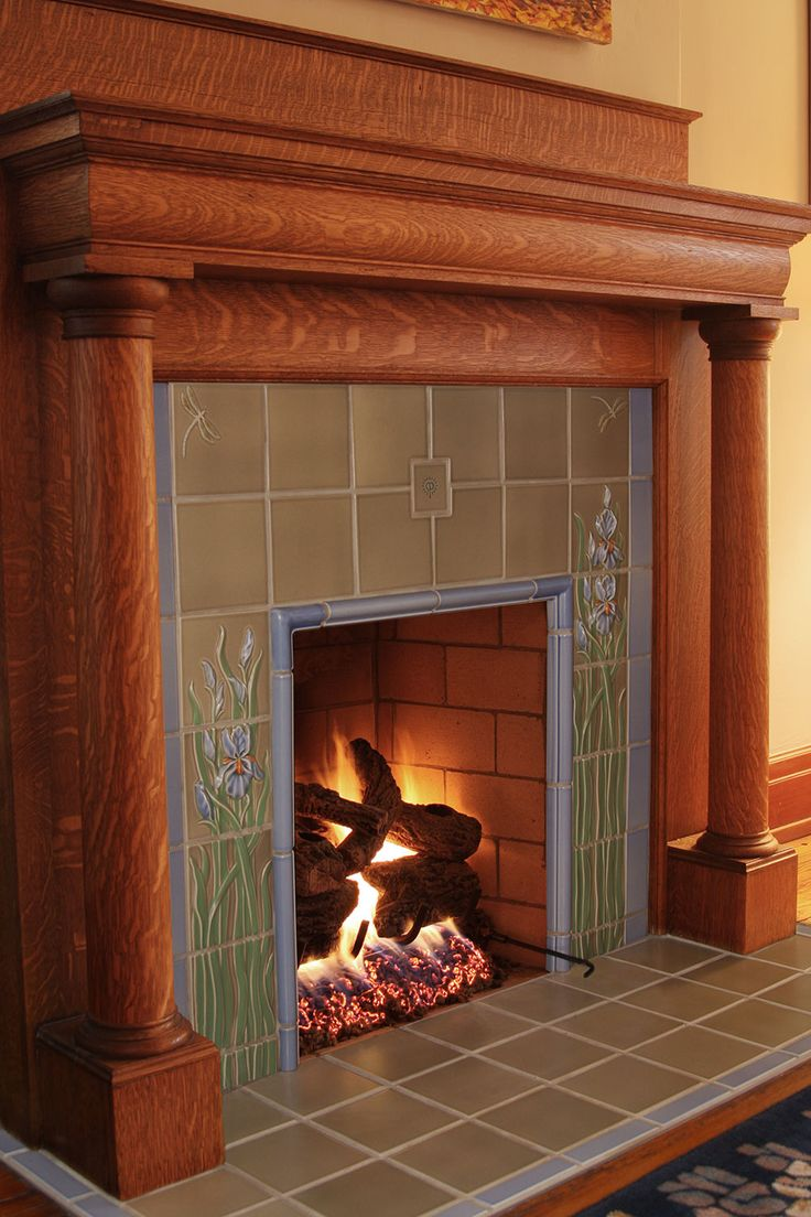 182 best Tiled Fireplaces/Tiled fireplace surrounds ...