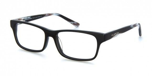 Pori Black & Pattern - Men's Prescription Glasses #men #eyewear #fashion