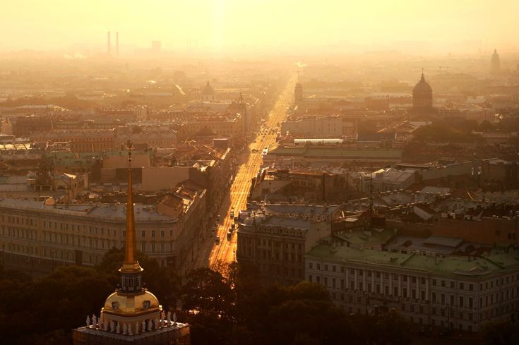 La avenida Nevsky Prospekt, San Petersburgo