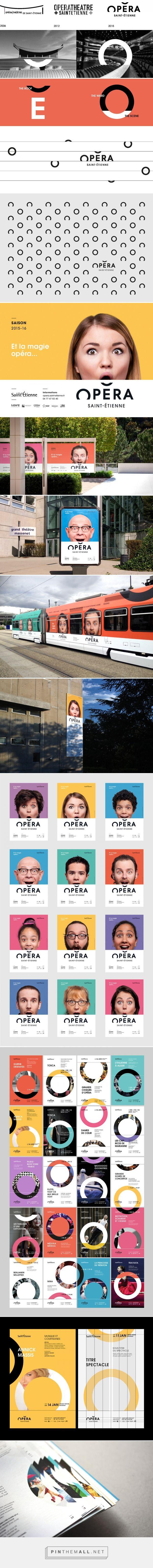 Saint Etienne Opera House - Brand design on Behance - created via http://pinthemall.net