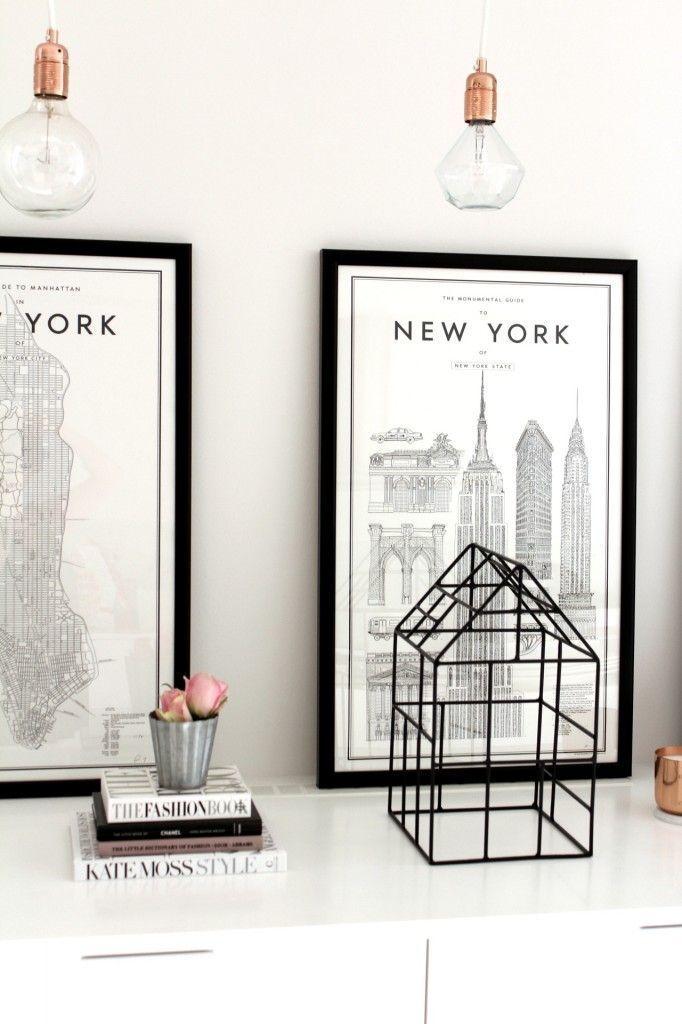 5 Inspiring Ways to Decorate With Maps: Framed Maps   www.wandeleur.com
