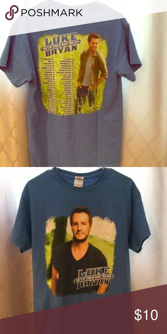 Official Luke Bryan Tour Shirt!!! Feel free to make offers or ask questions!!!!:) Tops Tees - Short Sleeve