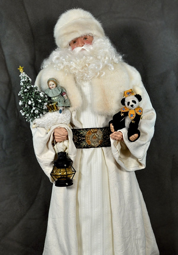 1000 Images About Santa Claus Dolls On Pinterest