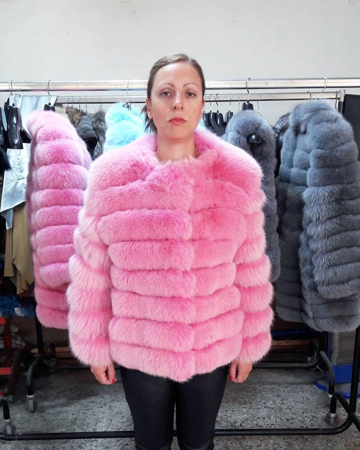 PINK FUR JACKET#new #necklace #realfur #fur #furvest #furfashion #style #fashion #pink #handmade #new #moda #moscow #clothing #woman #jewelry #jacket #coat #clothing #collection #light #bag #followme #instago #picoftheday #instagood #photography