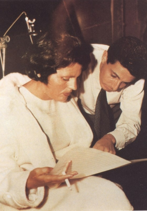 Amália Rodrigues and Alain Oulman (1962).