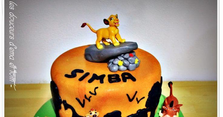 cake design roi lion