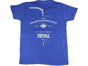 Camiseta Royal Azul Varias Tallas