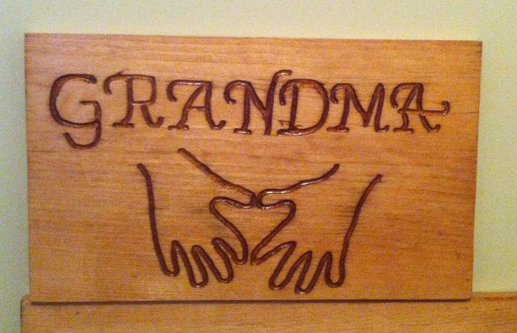 Hand Carved Gifot For Grandma