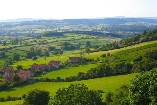 Ce sont des vues panoramiques en France que j'adore!