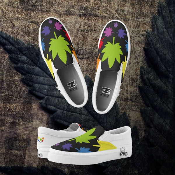 Zapatillas, Shoes. Custom Zipz. Cannabis. Producto disponible en tienda Zazzle. Calzado, moda. Product available in Zazzle store. Footwear, fashion. Regalos, Gifts. Link to product: http://www.zazzle.com/zapatillas_shoes_zapatillas-256056158349319677?lang=es&CMPN=shareicon&social=true&rf=238167879144476949 #zapatillas #shoes #marihuana #cannabis
