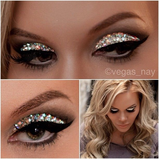 #GLITTER #BEAUTY love this look!!!!