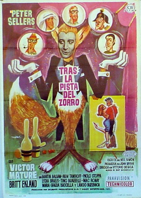 Caccia alla volpe (After the Fox) (1966) Director: Vittorio De Sica.