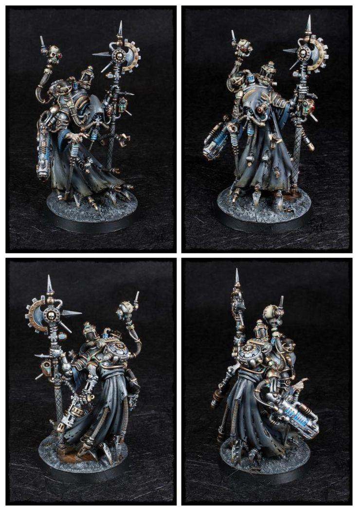 Achlys Iii, Adeptus Mechanicus, Admech, Dominus, Tech Priest, Tech Priest Dominus, Warhammer 40,000