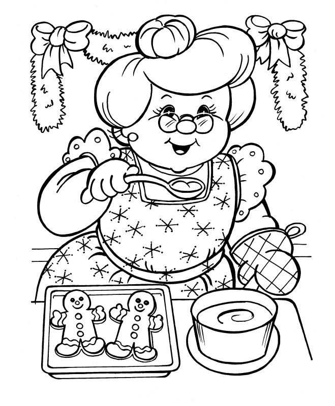Christmas Coloring Pages - its normal I want these for myself right?