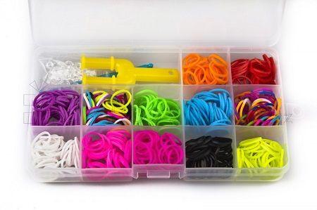 Soutěž o gumičky Loom Bands a přívěsky na gumičkové náramky
