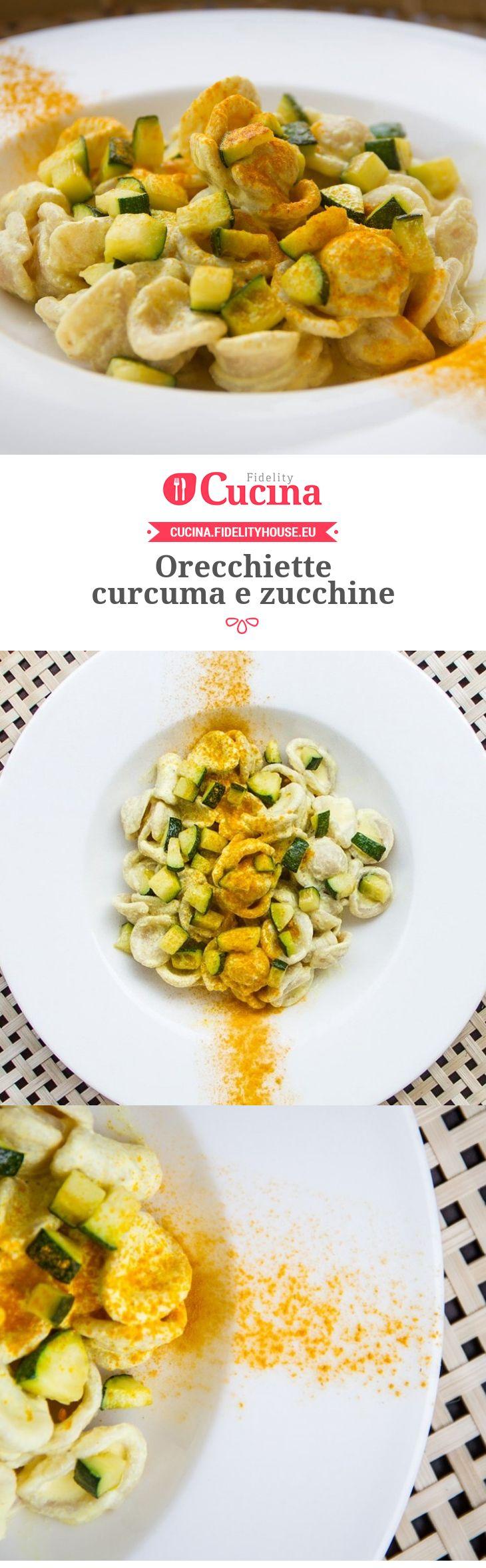 Orecchiette #curcuma e #zucchine della nostra utente Fabiola. Unisciti alla nostra Community ed invia le tue ricette!