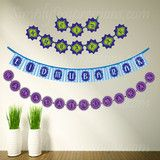 Eid/ Ramadan Pennant Banners  Make you own Eid/Ramdan pennant banners with the help of Simply Impressions decals. This is a wonderful projects for the whole family. Place the decal on the Cardstock paper or similar material, string it together  and you will have your own reusable Eid and Ramadan decoration.  Each decal will make a 'Ramadan Mubarak' and 'Eid Mubarak'  pannet banner…