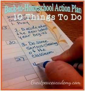 Planning for Next Year while Homeschooling Through Summer