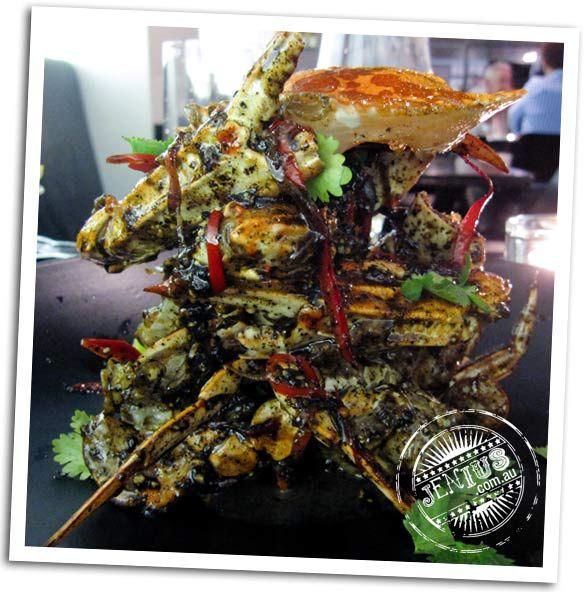 Coda Bar and Restaurant, Melbourne - wok fried black pepper crab