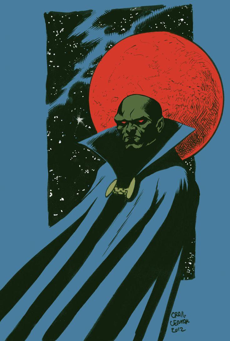 Jonn Jonzz, Manhunter from Mars by craigcermak.deviantart.com on @deviantART
