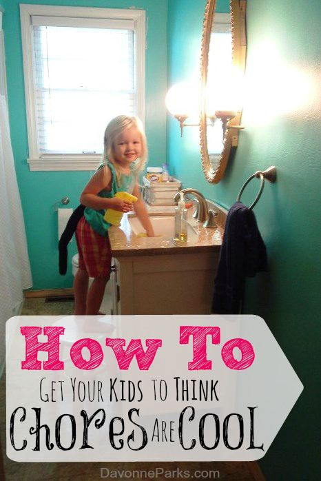 Want your kids to think chores are fun? Check out these great tips for how to make cleaning seem cool in your house!