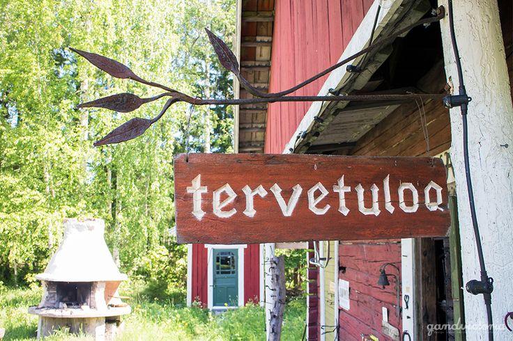 Handcraft village in Kustavi, Finland. | qandvictoria.wordpress.com
