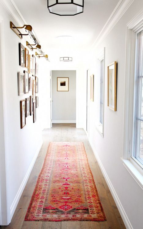 Hallway Gallery Wall Display Inspiration