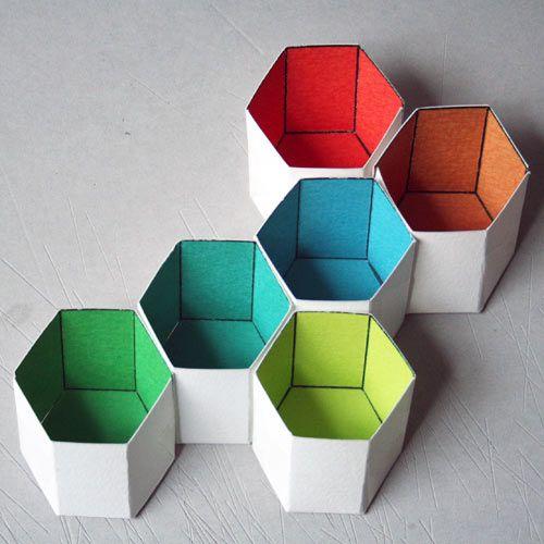 Cardboard geometry by Bjorn Jorund Blikstad