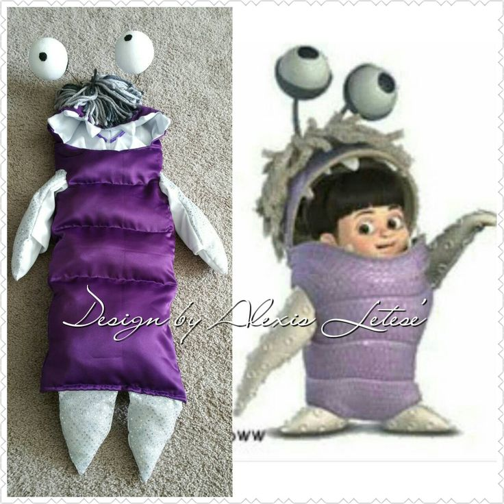 Boo Costume Monsters; Monsters Inc Boo Costume; Monsters Inc Costume; Boo Costume Mosters Inc; Halloween costume; Monsters Inc Costume by DesignsbyAlexisLetes on Etsy