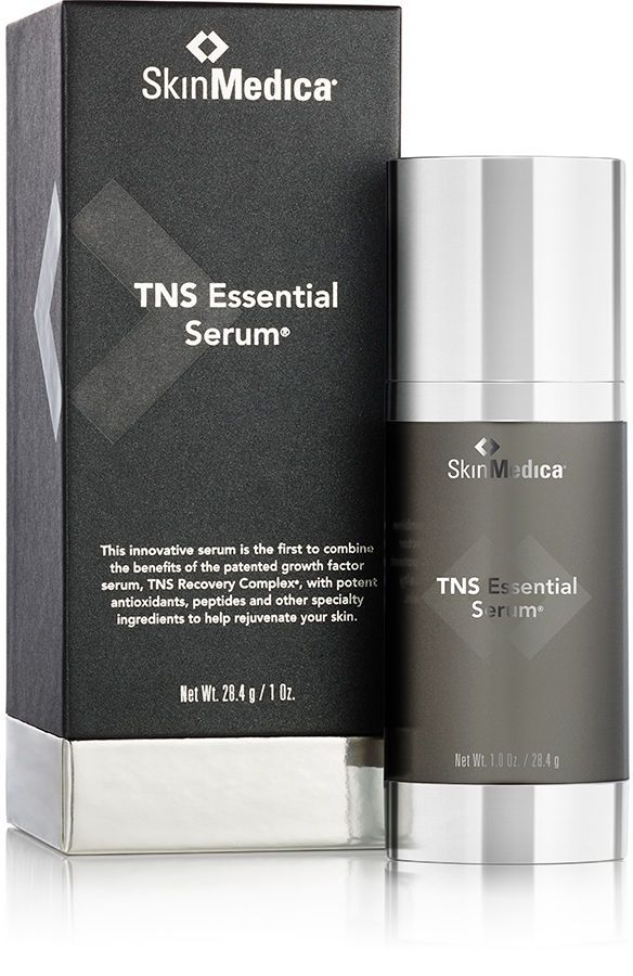 SkinMedica TNS Essential Serum® - All-in-one skin rejuvenating treatment improves the appearance of fine lines, wrinkles, skin tone and texture.