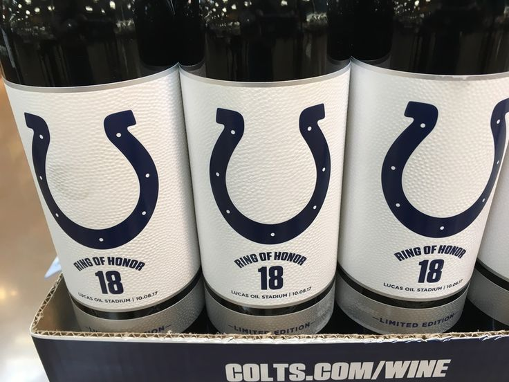 Raise a glass of 'Ring of Honor 18' wine to Peyton Manning ahead of his statue unveilingnow you can raise a glass to No. 18 with a bottle of 'Ring of Honor 18' wine. #wine #NFL #peytonmanning