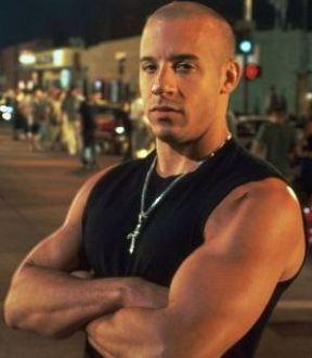 Vin Diesel <3 my all time favorite man! :)