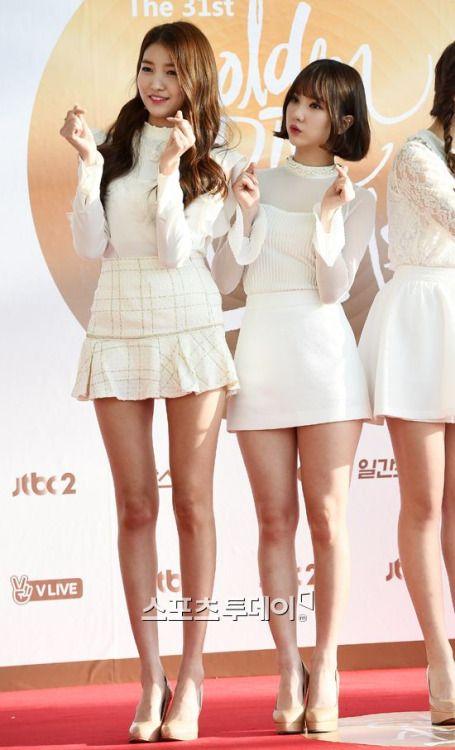 GFRIEND - SoWon 소원 (Kim SoJung 김소정) 원이 & EunHa 은하 (Jung EunBi 정은비)