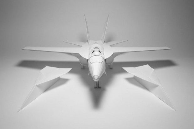 paper-fighter-jet-beside-paper-airplanes-kyle-bean