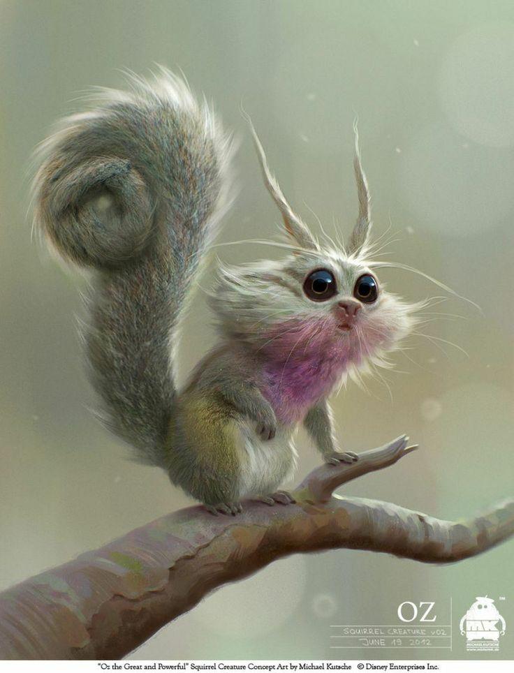 squirrel_creature_by_michael_kutsche